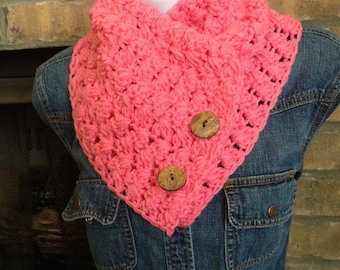 Handmade crochet neckwarmer