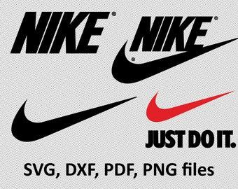 Nike SVG / Nike DXF / Nike Clipart / Nike Files, Nike cutting, DXF