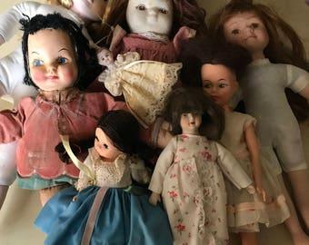 Misc vintage dolls