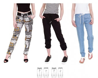 Jalie 3676 - VANESSA Fluid Pants / 27 Sizes / Child & Adult