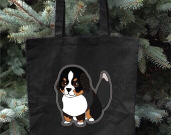 Bernese Mountain Dog - Tote Bag