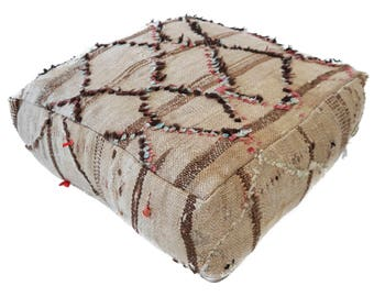 Moroccan Floor Cushion  - 50 - '23.6 x 23.6 x 7.9 inch''