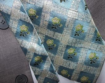 KENZO Homme/BUY1 GET1 FREE/Vintage Tie/Silk Tie/Mens Tie/Gift for Him/FreeShipping/T1.