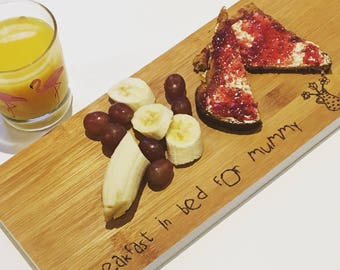 Serving Board | Breakfast In Bed | Valentines Gift | Mother's Day Gift