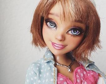 Custom OOAK Descendants doll repainted