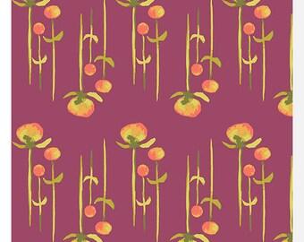HAIKU by Monaluna - Clover2 - Organic Fabric (0.25m)
