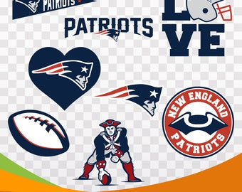 New England Patriots files, sport logo, vector files, svg American football