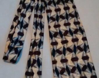 Vintage Nordstrom necktie hand sewn by XMI