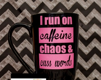 Coffee chaos....funny Coffee Mug