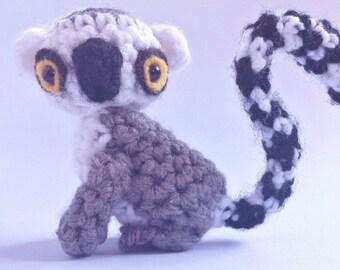 Amigurumi Ring-Tailed Lemur Pattern