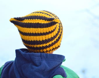 Instant Download - Little Tiger hat - PATTERN ONLY