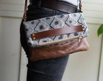 Leather handbag, leather crossbody, crossbody bag, handbag, clutch bag, leather clutch