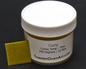 Curry Powder Coating
