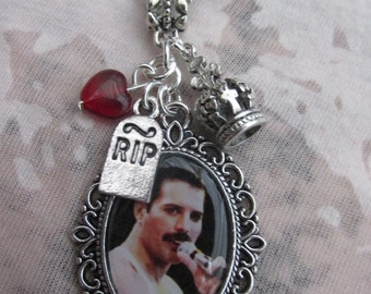 Freddie Mercury Picture Necklace