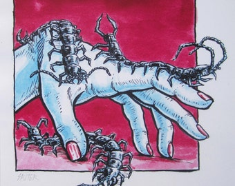 Nightmare — giclée print
