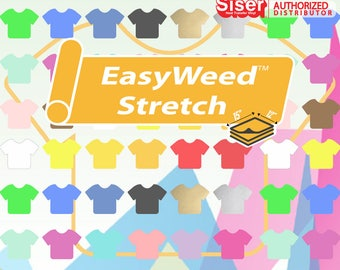 """Siser Easyweed Stretch 15"""" x 12"""" - Select your Colors!"""