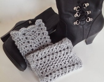 Crochet Boot Cuffs / Choose Your Color
