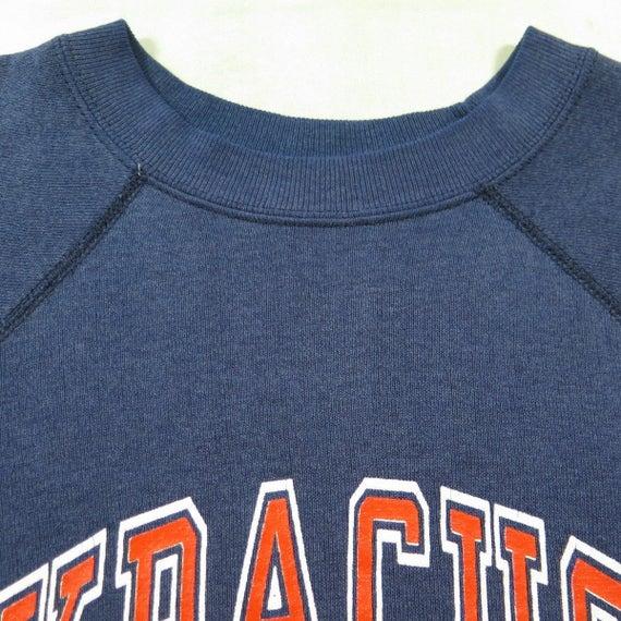 Vintage 80s Syracuse Sweatshirt Mens L University CFL Football Tampa Bay Champs [H54R_0-12_Shelf] 75U7P8s