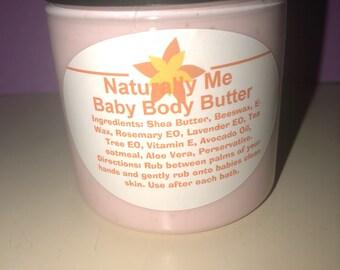 Baby Body Butter 2 oz  or 4 oz  or 8 oz  or 16 oz  sizes
