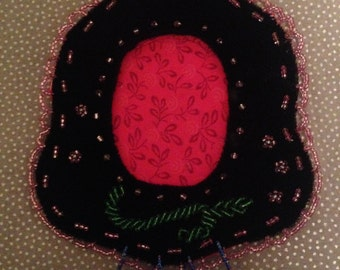 Native American Beaded Picture Frame