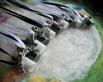 Black and White Dance Party Modern Tap Ballet Dancer Party Favors, 10 Magical Sparkle Necklace Dance Recital Dance Party Ballet Party Favors