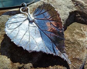 Feine Silber Wild Geranium-Anhänger