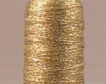 YLI Candlelight Metallic Yarn - Gold - 200 yards