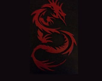 Red Dragon Wall Hanging