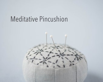 Meditative Pincushion Sewing Tutorial PDF