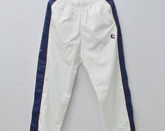 Rocket! 1980s Neon Track Pants / Comfortable / Size L UC5TRBJ0