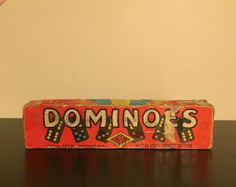 Dominoes with Colored Dots
