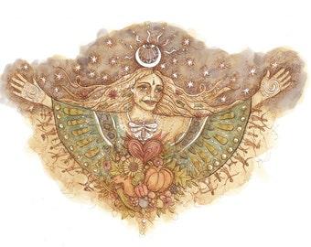 PRINT- Earth Angel
