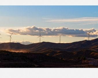 Turbine Farm - Landscape Photography Print