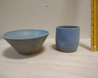 Bowl and Dimple Mug