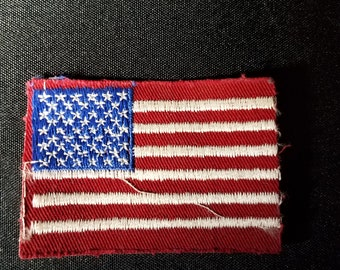 Vintage American Flag Patch