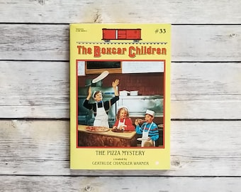 The Boxcar Children Series The Pizza Mystery 33 Boxcar Children 1993 Book Series Early Chapter Book Kids Mystery Story Child Of The 90s Gift