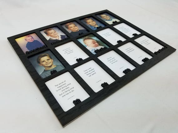 School Years Picture Insert Personalized With Any Name 10