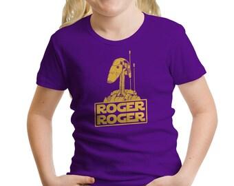 Star Wars Inspired Roger Roger Girls' T-Shirt