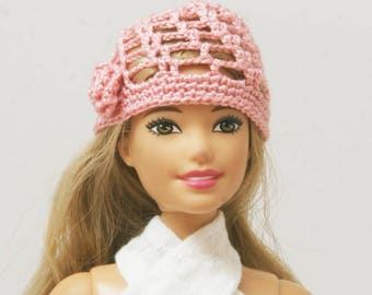 Barbie crochet hat