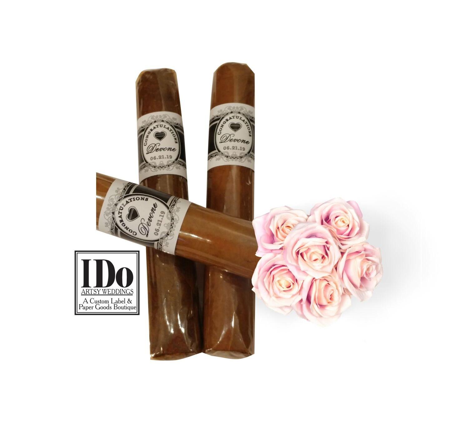 Cigar Bands Wedding Bands Custom Heart Cigar Bands