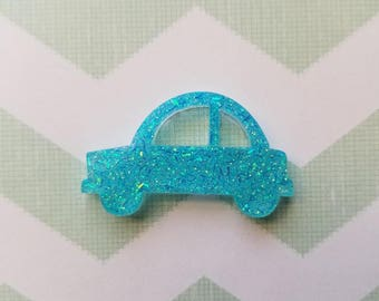 DIFFERENT COLORS Car brooch/pin