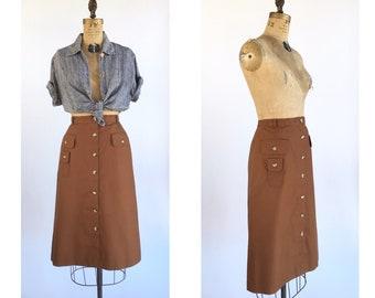 1970's Safari Skirt