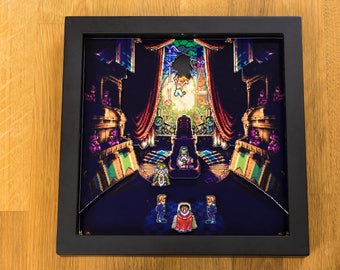 Chrono Trigger (SNES) Shadowbox - Marle Enters the Courtroom