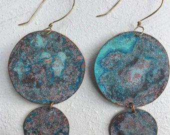 Double disc danglers (SOLD)