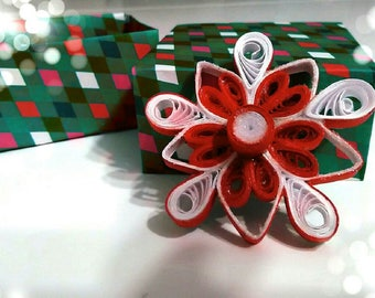 Fiocco di neve, decorazione natalizia, decorazione albero di natale