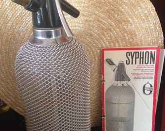 ANTIQUE, Soda Syphon, Vintage, Seltzer, Bottle