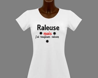 t-shirt women funny grouchy but I'm always right