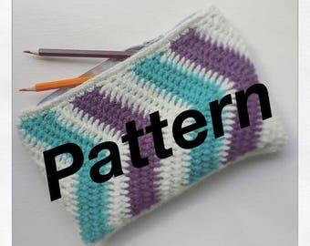 Crochet Pencil Case (pattern)