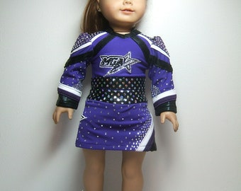 Special Listing - AG Custom Detailed MGA-GA Cheer Uniform set