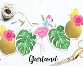 Summer - Flamingo Garland...